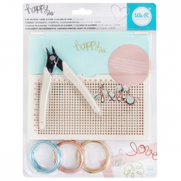 Kit outil pour fil de fer HAPPY JIG par We R Memory Keepers. Scrapbooking et loisirs créatifs. Livraison rapide et cadeau dan...
