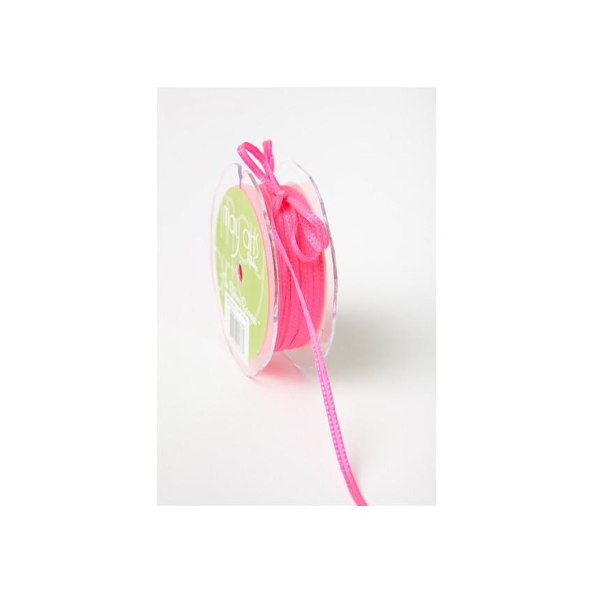 Ruban néon à coutures ROSE 4 mm par May Arts. Scrapbooking et loisirs créatifs. Livraison rapide et cadeau dans chaque commande.