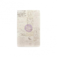 Carnet Traveler's Journal OLD LETTER taille Personnal