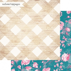 PROMO de -30% sur Papier imprimé My Happy Place PRETTY PLAID Webster's Pages