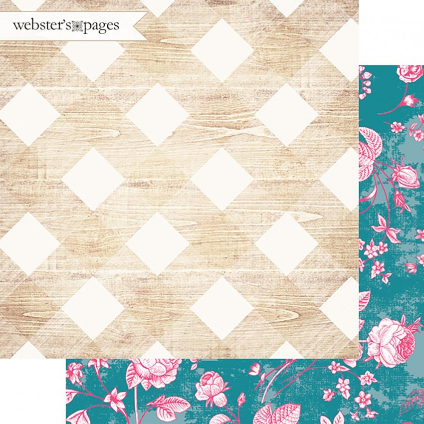 PROMO de -50% sur Papier imprimé My Happy Place PRETTY PLAID Webster's Pages