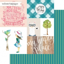 PROMO de -30% sur Papier imprimé My Happy Place ENJOY THE DAY Webster's Pages