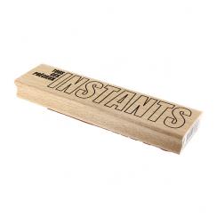 Tampon bois SI GRANDS INSTANTS par Florilèges Design. Scrapbooking et loisirs créatifs. Livraison rapide et cadeau dans chaqu...