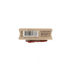 Tampon bois JUST LOVE YOU par Florilèges Design. Scrapbooking et loisirs créatifs. Livraison rapide et cadeau dans chaque com...