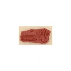 Tampon bois TOUT PETITS RIENS par Florilèges Design. Scrapbooking et loisirs créatifs. Livraison rapide et cadeau dans chaque...