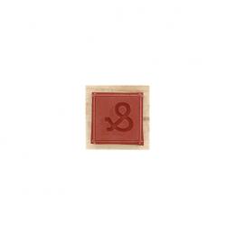 Tampon bois CARRÉ ESPERLUETTE par Florilèges Design. Scrapbooking et loisirs créatifs. Livraison rapide et cadeau dans chaque...