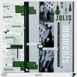 Tampon bois ET LA LUMIÈRE FUT par Florilèges Design. Scrapbooking et loisirs créatifs. Livraison rapide et cadeau dans chaque...