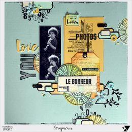 Tampon bois ROUE CHROMATIQUE par Florilèges Design. Scrapbooking et loisirs créatifs. Livraison rapide et cadeau dans chaque ...
