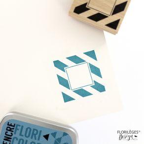 Commandez Tampon bois CADRE LARGES LIGNES Florilèges Design. Livraison rapide et cadeau dans chaque commande.