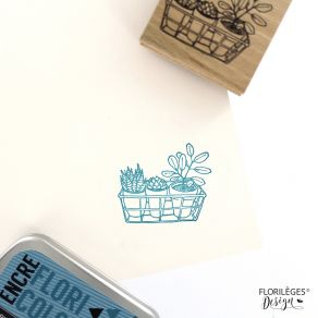 PROMO de -20% sur Tampon bois TROIS PLANTES Florilèges Design