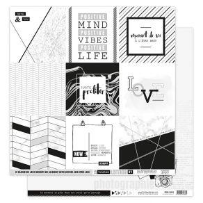 PROMO de -75% sur Papier imprimé EN TOUTES LETTRES 1 Florilèges Design