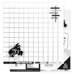 Papier imprimé EN TOUTES LETTRES 2 par Florilèges Design. Scrapbooking et loisirs créatifs. Livraison rapide et cadeau dans c...