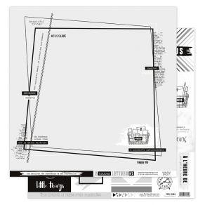 PROMO de -75% sur Papier imprimé EN TOUTES LETTRES 5 Florilèges Design