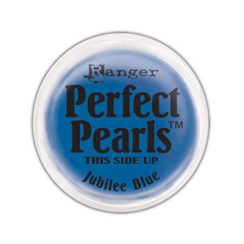 Poudre Perfect Pearl JUBILEE BLUE par Ranger. Scrapbooking et loisirs créatifs. Livraison rapide et cadeau dans chaque commande.