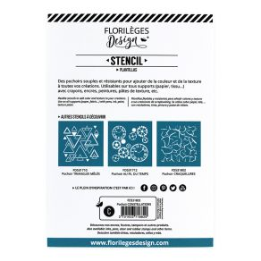 Pochoir CONSTELLATIONS par Florilèges Design. Scrapbooking et loisirs créatifs. Livraison rapide et cadeau dans chaque commande.