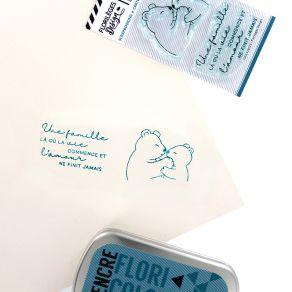 Tampons clear FAMILLE OURS par Florilèges Design. Scrapbooking et loisirs créatifs. Livraison rapide et cadeau dans chaque co...