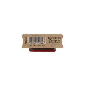 Tampon bois FAMILLE LAPIN par Florilèges Design. Scrapbooking et loisirs créatifs. Livraison rapide et cadeau dans chaque com...