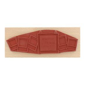 Tampon bois italien SELEZIONE DI MOMENTI par Florilèges Design. Scrapbooking et loisirs créatifs. Livraison rapide et cadeau ...