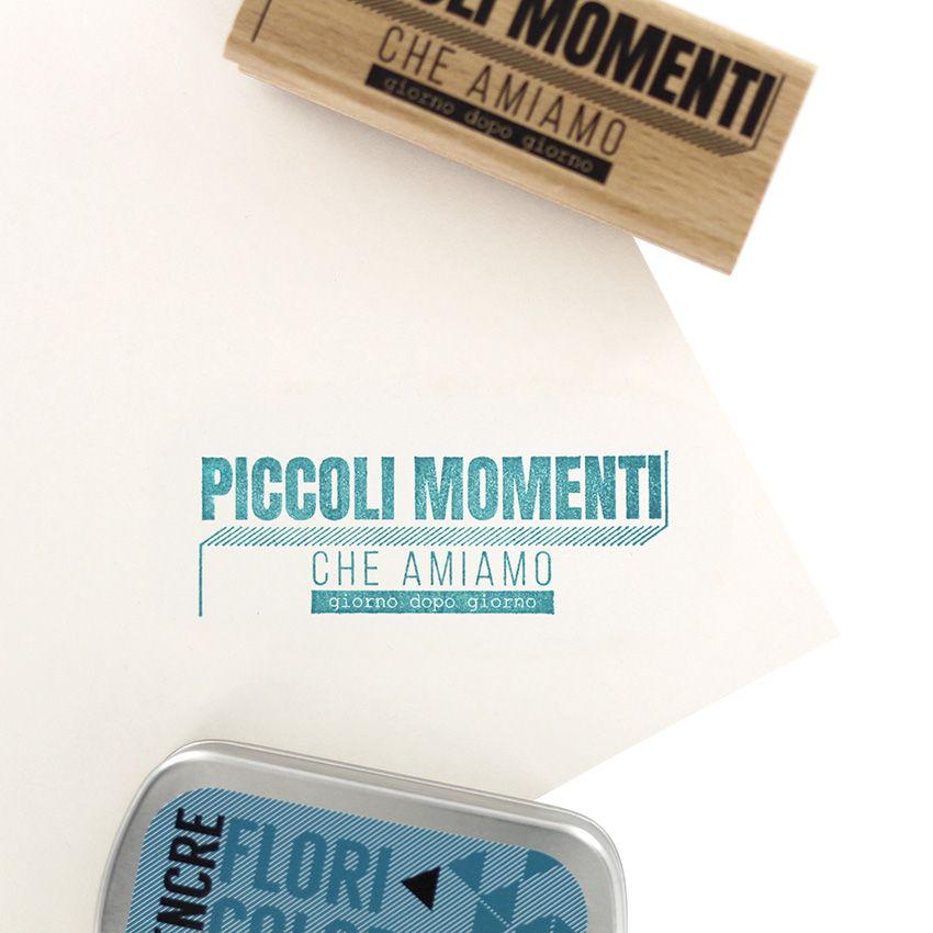 Tampon bois italien COSE CHE AMIAMO par Florilèges Design. Scrapbooking et loisirs créatifs. Livraison rapide et cadeau dans ...