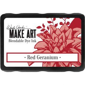 Encre dye Make Art RED GERANIUM par Ranger. Scrapbooking et loisirs créatifs. Livraison rapide et cadeau dans chaque commande.