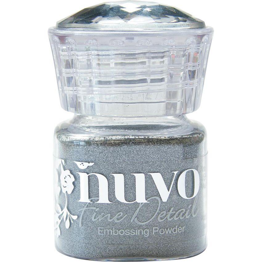 Poudre à embosser Nuvo Fine Detail CLASSIC SILVER par Tonic Studios. Scrapbooking et loisirs créatifs. Livraison rapide et ca...