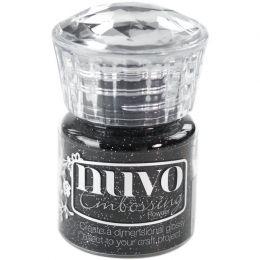 Poudre à embosser Nuvo GLITTER BLACK par Tonic Studios. Scrapbooking et loisirs créatifs. Livraison rapide et cadeau dans cha...