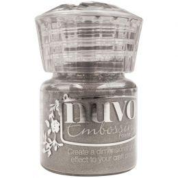 Poudre à embosser Nuvo CLASSIC SLIVER par Tonic Studios. Scrapbooking et loisirs créatifs. Livraison rapide et cadeau dans ch...