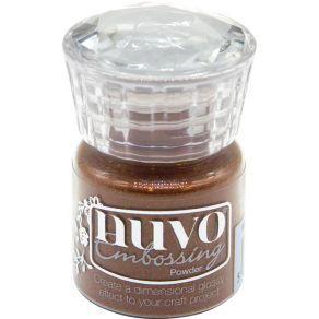 Poudre à embosser Nuvo COOPER BLUSH par Tonic Studios. Scrapbooking et loisirs créatifs. Livraison rapide et cadeau dans chaq...