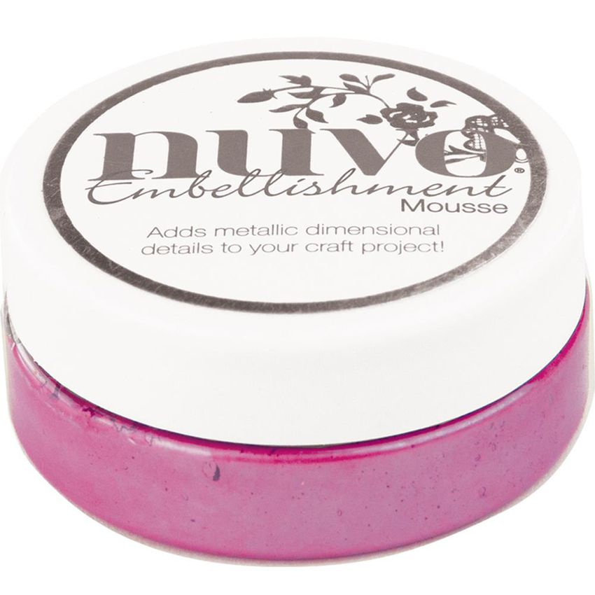 Pâte de texture Nuvo Embellishment Mousse ENGLISH HEATHER