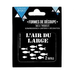 Outils de découpe L'AIR DU LARGE par Florilèges Design. Scrapbooking et loisirs créatifs. Livraison rapide et cadeau dans cha...
