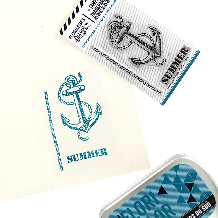 Tampons clear SUMMER par Florilèges Design. Scrapbooking et loisirs créatifs. Livraison rapide et cadeau dans chaque commande.