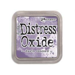 Encre Distress OXIDE DUSTY CONCORD par Ranger. Scrapbooking et loisirs créatifs. Livraison rapide et cadeau dans chaque comma...