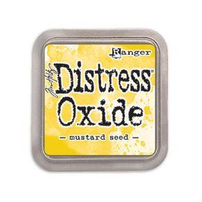 Encre Distress OXIDE MUSTARD SEED par Ranger. Scrapbooking et loisirs créatifs. Livraison rapide et cadeau dans chaque commande.