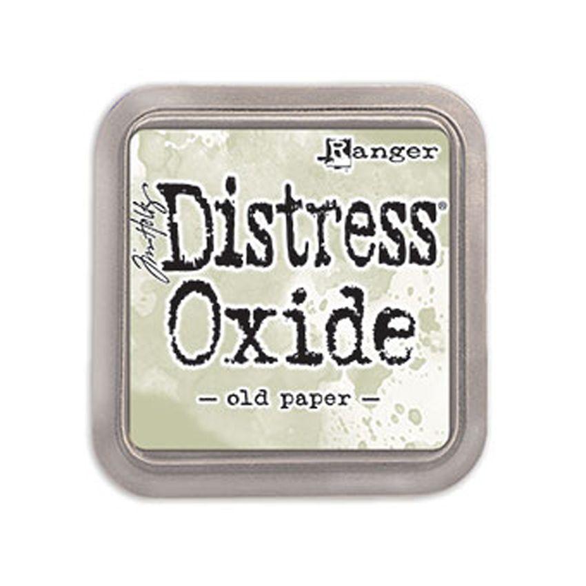 Encre Distress OXIDE OLD PAPER par Ranger. Scrapbooking et loisirs créatifs. Livraison rapide et cadeau dans chaque commande.