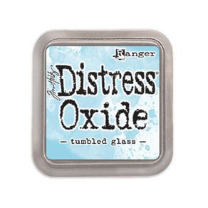 Encre Distress OXIDE TUMBLED GLASS par Ranger. Scrapbooking et loisirs créatifs. Livraison rapide et cadeau dans chaque comma...