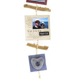 Tampon bois ENJOY BEACH LIFE par Florilèges Design. Scrapbooking et loisirs créatifs. Livraison rapide et cadeau dans chaque ...