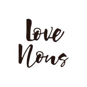 Outils de découpe LOVE NOUS