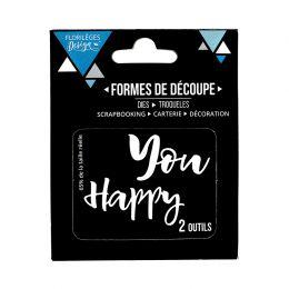 Outils de découpe YOU HAPPY