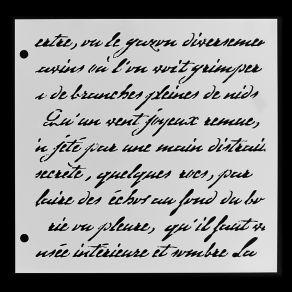 Commandez Pochoir TEXTE MANUSCRIT Florilèges Design. Livraison rapide et cadeau dans chaque commande.