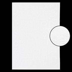 Plaque d'embossage MIX DE LETTRES par Florilèges Design. Scrapbooking et loisirs créatifs. Livraison rapide et cadeau dans ch...