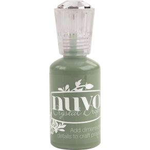 Peinture dimensionnelle Nuvo Crystal Drops OLIVE BRANCH