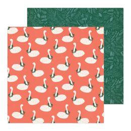 Papier imprimé Merry Days TWELVE DAYS par Crate Paper. Scrapbooking et loisirs créatifs. Livraison rapide et cadeau dans chaq...