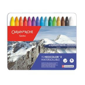 Coffret de 15 Pastels aquarellables Neocolor II