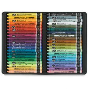 Coffret de 40 Pastels aquarellables Neocolor II