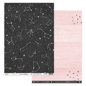 Parfait pour créer : Papier imprimé POUSSIÈRE D'ÉTOILES 1 par Florilèges Design. Livraison rapide et cadeau dans chaque comma...
