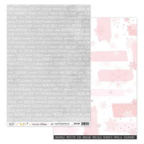 Papier imprimé POUSSIÈRE D'ÉTOILES 7 par Florilèges Design. Scrapbooking et loisirs créatifs. Livraison rapide et cadeau dans...