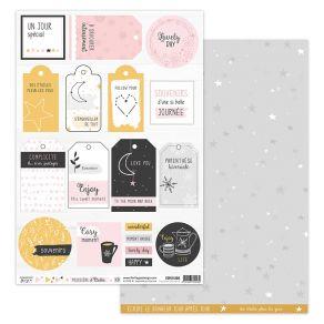 Parfait pour créer : Papier imprimé POUSSIÈRE D'ÉTOILES 8 par Florilèges Design. Livraison rapide et cadeau dans chaque comma...