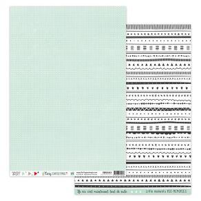 Parfait pour créer : Papier imprimé COSY CHRISTMAS 4 par Florilèges Design. Livraison rapide et cadeau dans chaque commande.