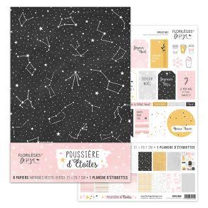 Parfait pour créer : Kit POUSSIÈRE D'ÉTOILES par Florilèges Design. Livraison rapide et cadeau dans chaque commande.
