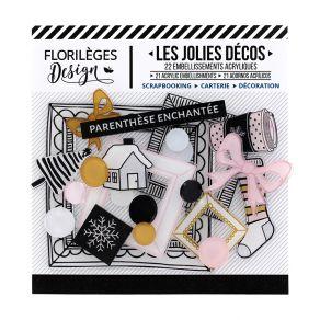 Parfait pour créer : Décos PARENTHÈSE ENCHANTÉE par Florilèges Design. Livraison rapide et cadeau dans chaque commande.